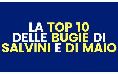 Hanno promesso qualunque cosa: la Top 10 delle bugie di Salvini e Di Maio