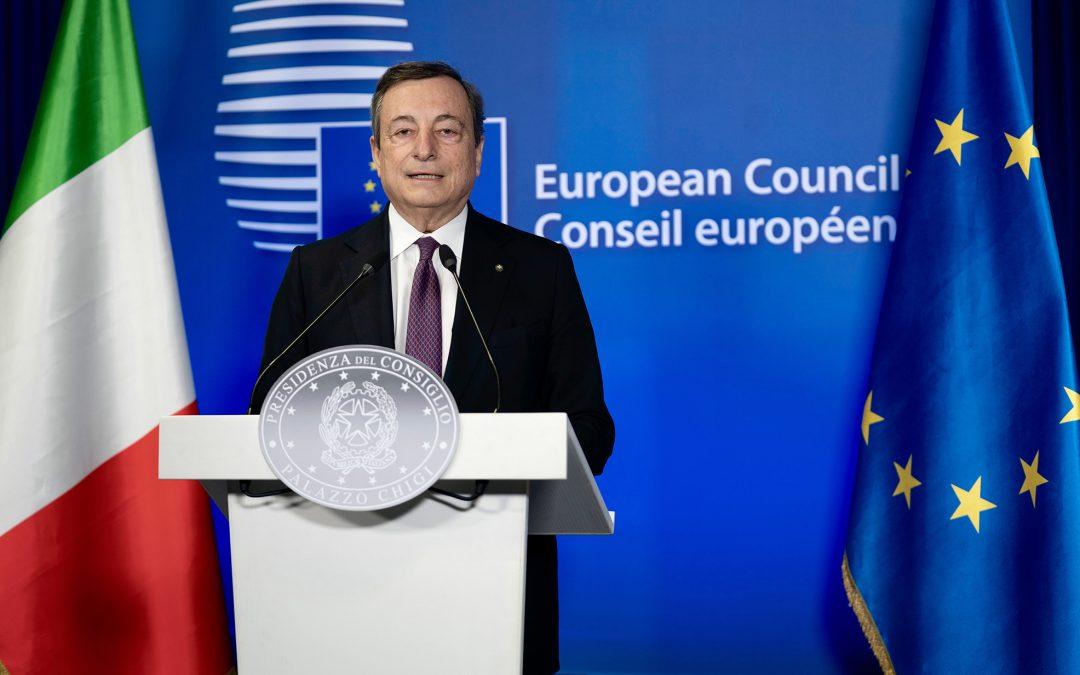 100 giorni del governo Draghi, l'Italia riparte